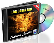 Natural Sounds Vol. 12 - Log Cabin Fire